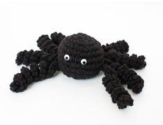 Halloween Spider Crochet Pattern