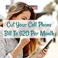 cut your cell phone bill to $20 per month overlayed over smiling woman excitedly fist pumping while using cell phone Monthly Budget Worksheet, Budgeting Worksheets, Republic Wireless, Live For Yourself, Finance, Money, Pumping, Lamborghini, Woman