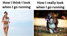 how you think you look when exercising - Google-haku