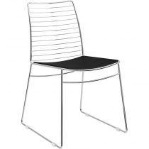 Cadeira 1712 - Móveis Carraro Preto
