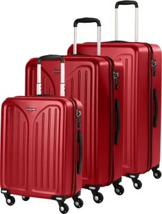Hardware Skyline 3000 HS Trolley-Set 3tlg 456 red/grey