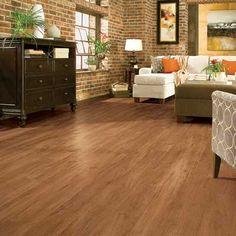 wood grain vinyl flooring | luxeplank peel and grip vinyl strip flooring by armstrong