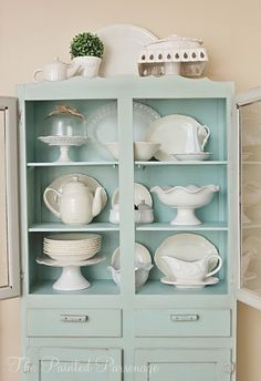 Vintage Cupboard Redo