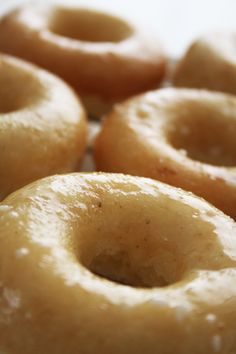 Baked Cake Donuts - made with cake flour which makes a huge difference. Previous pinner says: This is my favorite baked donut recipe.
