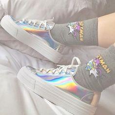 Imagen de shoes, grunge, and socks