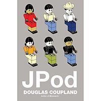 JPod by Douglas Coupland. Good ol'Canadian writing turned into good ol'Canadian TV. Runs on CBC and a couple of satellite channels every once in a while.