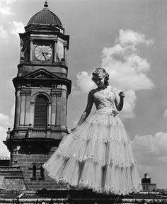 A Neiman Marcus tulle party dress from 1939.