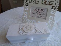 Convite padrinhos de casamento produzido por Mônica Guedes