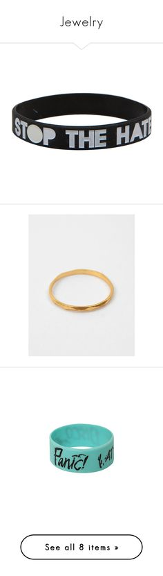 """""""Jewelry"""" by pastel-goth-baby ❤ liked on Polyvore featuring jewelry, bracelets, accessories, twenty one pilots, multi, roaring twenties jewelry, 1920s jewelry, 1920s style jewelry, rubber bangles and rubber jewelry"""