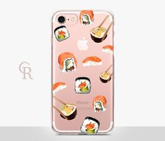 Sushi Clear iPhone 8 Case Clear Case For iPhone 8 iPhone