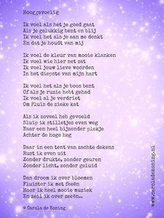 Een gedichtje voor alle hooggevoelige kinderen!