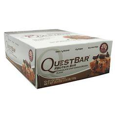 Quest Nutrition Quest Protein Bar Chocolate Chip Cookie Dough - Gluten Free