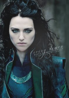 Morgana/Loki    - thanks to all for the comments, I realize now that this is photoshopped, not a cosplay.  I still think the photo is beautiful.