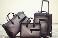 Berluti Spring / Summer 2014 Tela Canvas Bags