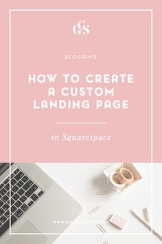 While creating my recent e-course,I've spent a lot of time researching the  best tools and resources to use to ensure a smooth launch. Today I want to  share with you how you can use your Squarespace site to create your own,  customized landing pages without having to make use of a landing page  generator site like Leadpages.  One of the benefits of blogging with Squarespace is the ability to create  Cover Pages (just like this onethat I made for BeautifyYourBlog.  But  Cover Pages are…