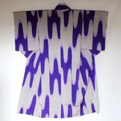 Kimono d'été femme en soie Omeshi
