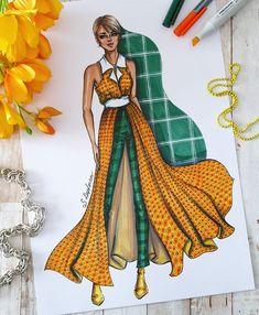 814 отметок «Нравится», 30 комментариев — Sveta Leyfman fashion artist (@svetaleyfman) в Instagram: «The most summer color combination 🌞💚…» Fashion Design Drawings, Fashion Sketches, Fashion Illustration Dresses, Summer Colors, Designs To Draw, Color Combinations, Office Team, Instagram Repost, How To Make