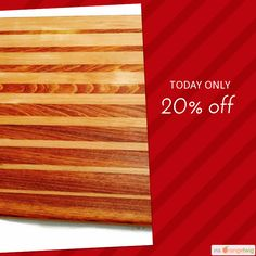 Today Only!  Follow us on Pinterest to be the first to see our exciting Daily Deals. Buy now: https://www.etsy.com/listing/467591572/beautifully-hand-crafted-wooden-cutting?ref=shop_home_active_55   #etsy #etsyseller #etsyshop #etsylove #etsyfinds #etsygifts #loveit #instagood #instacool #shop #shopping #onlineshopping #instashop #musthave #instafollow #photooftheday #picoftheday #love #OTstores #smallbiz #cheeseboard #appetizerplatter #food #handmade #buttercream #cuttingboard #woodworking…