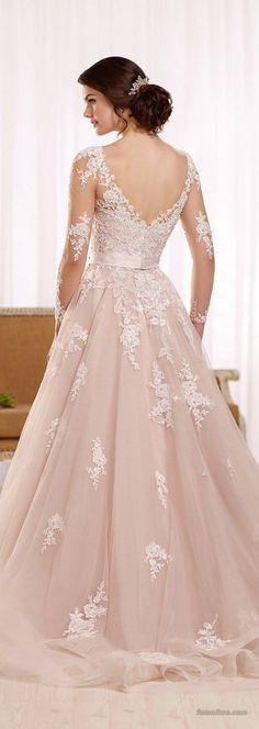139 ideas for fall 2017 wedding dress trends (2)