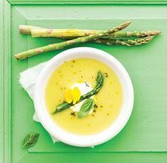 Krémová chřestová polévka, Foto: Gurmet