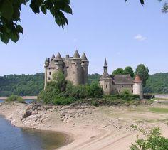 Chateau de Val, Auvergne, France.