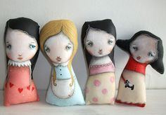 Her work is really fun and cute. Very simplistic.