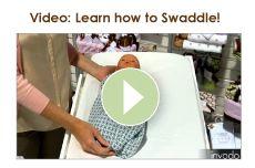 Swaddling Blankets / video