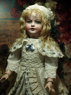 Beautiful Santa Character Antique Doll by Simon and Halbig