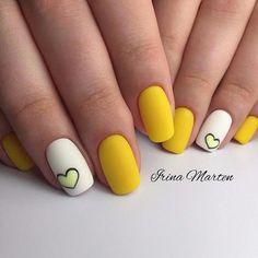 23 Great Yellow Nail Art Designs 2019 – Source by Amparobabsjjkkj Manicure Nail Designs, Heart Nail Designs, Fall Nail Art Designs, Flower Nail Designs, Fall Nail Designs, Acrylic Nail Designs, Nail Manicure, Diy Nails, Acrylic Tips
