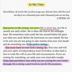 His work is being done for you, your reaffirmation is in his hands