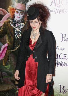 Helena Bonham Carter Photos - Alice in Wonderland Premieres in Paris - Zimbio