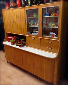 Vintage kast Vintage buffetkast Vintage servieskast Vintage cabinet Midcentury cabinet