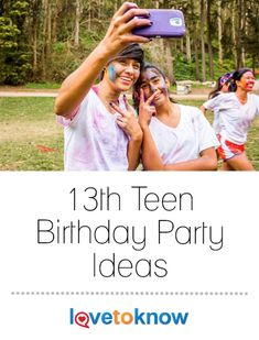 Coming up with 13th birthday party ideas for your new teen may seem like an insurmountable task. Kids on the cusp of the teenage years can have a wide range of maturity levels and interests, so it is important to involve your child in the planning and preparation of his birthday party. | 13th Teen Birthday Party Ideas from #LoveToKnow