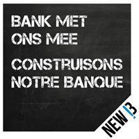 New B: een andere bank is mogelijk!. Voorbeeld van moderne coöperatieve.