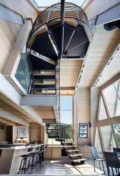 Holy Staircases!!! Bromley Caldari designs | Doug + Bill's by Bromley Caldari Architects