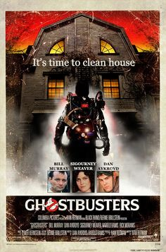 Ghostbusters vs. Amityville Horror House, wouldn't this be a wicked movie.