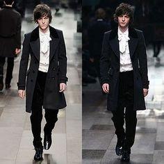 Men in 18th Century style frocks #fashion