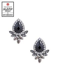 The Tzar Jewel Earrings by JewelMint.com, $48.00