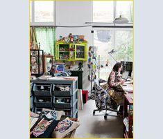 Casa di Nathalie Lete - Living
