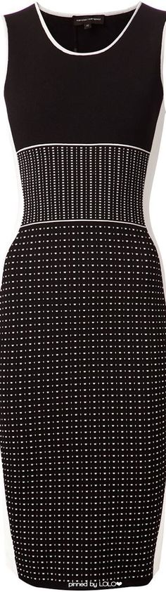 NARCISO RODRIGUEZ Knitted Fitted Dress | LOLO❤︎