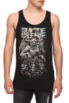 Suicide Silence Demon Tank Top