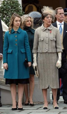 Princesa Carolina de Mónaco y su hija Alexandra