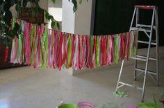 Ribbon garaland