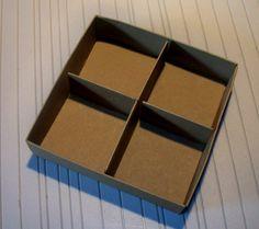 Stampin up gift tag box