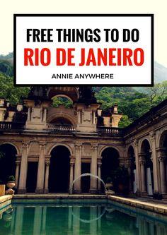 Free Things to Do in Rio de Janeiro
