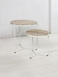 LUNAR NESTING TABLE. via The Cools