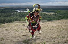 Man from the Blackfoot nation, Southern Alberta, Canada