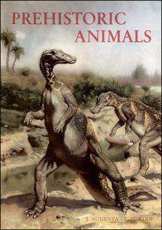 Zdeněk Burian (1905-1981) | Prehistoric Animals (Paul Hamlyn Ltd, 1960)