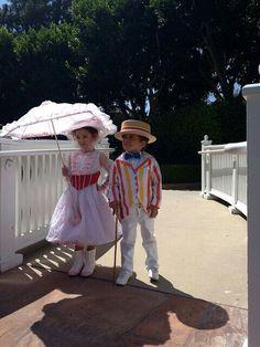 Little Mary Poppins & Bert!! <3