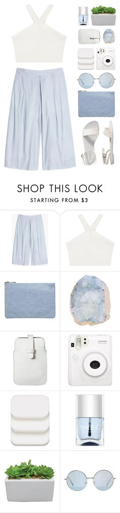 """""""Culotte"""" by via-m ❤ liked on Polyvore featuring Madewell, BCBGMAXAZRIA, Miss Selfridge, Mossimo, Fuji, COVERGIRL, Nails Inc. and Old Navy"""
